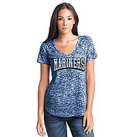 Women's Seattle Mariners Burnout Tee