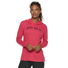 Women's Nike Dry Training 'Just Do It' Graphic Hoodie