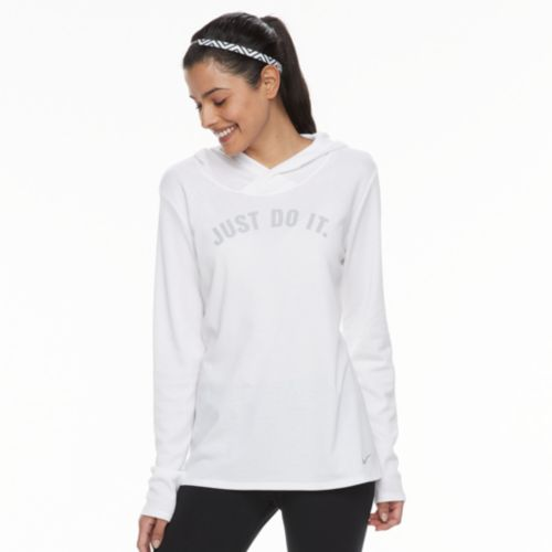 """Women's Nike Dry Training """"Just Do It"""" Graphic Hoodie by Kohl's"""
