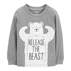 Baby Boy Carter's 'Release The Beast' Bear Graphic Tee