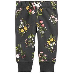 Baby Girl Carter's Floral Jogger Pants