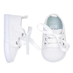 Baby Girl Carter's Eyelet Sneaker Crib Shoes