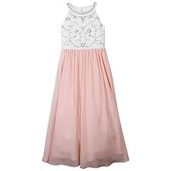 Girls 7-16 Speechless Sparkle Bodice Maxi Dress
