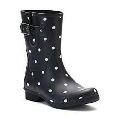 Chooka Classic Lottie Dot Women's Rain Boots