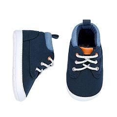 Baby Boy Carter's Hi-Top Sneaker Crib Shoes