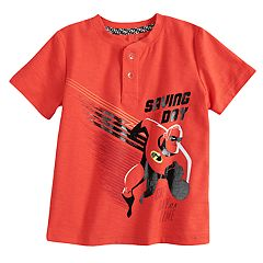 Disney / Pixar The Incredibles 2 Toddler Boy Mr. Incredible Henley Top by Jumping Beans®