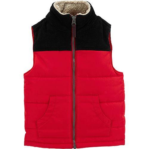 Baby Boy Carter's Colorblocked Puffer Vest