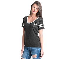Women's Pittsburgh Pirates Burnout Wash Tee