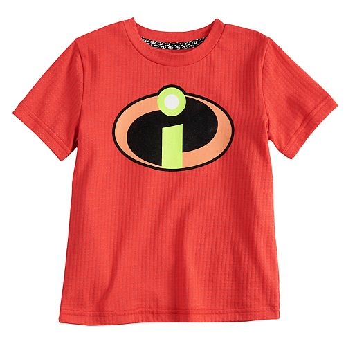 0ec9b12ba Disney / Pixar The Incredibles 2 Toddler Boy Burnout Logo Graphic ...