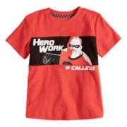 "Disney / Pixar The Incredibles II Toddler Boy Mr. Incredible ""Hero Work"" Graphic Tee by Jumping Beans®"