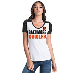 Women's Baltimore Orioles Colorblock Tee