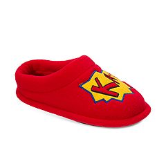 Dearfoams Boys' Superhero Clog Slippers