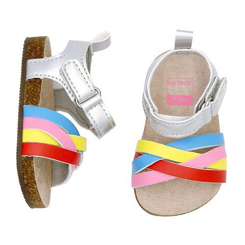 Baby Girl Carter's Rainbow Sandals