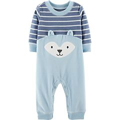 Baby Boy Carter's Microfleece Fox Coveralls