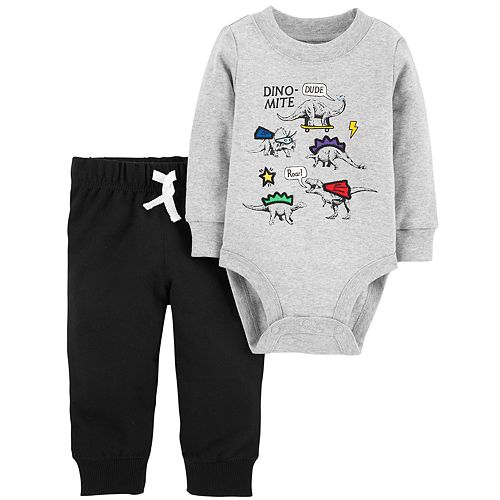 Baby Boy Carter's Dino-Mite Bodysuit & Pants Set