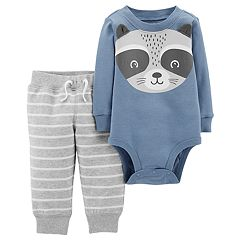 Baby Boy Carter's Raccoon Bodysuit & Pants Set