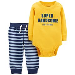 Baby Boy Carter's 'Super Handsome Like Daddy' Bodysuit & Pants Set