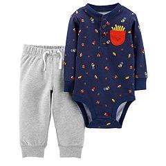 Baby Boy Carter's Food Bodysuit & Pants Set
