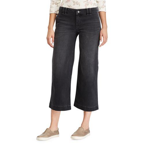 Women's Chaps Wide-Leg Crop Jeans