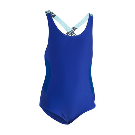 Girls 4-16 Under Armour Racer One-Piece Swimsuit