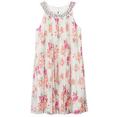 Girls 7-16 Speechless Floral Pleated Dress