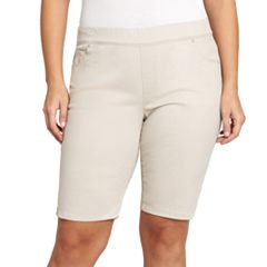 Plus Size Gloria Vanderbilt Avery Pull-On Bermuda Shorts