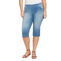 Plus Size Gloria Vanderbilt Avery Pull-On Skimmer Capris