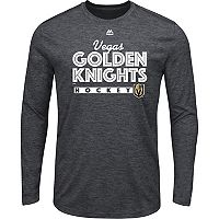 Men's Majestic Vegas Golden Knights Crash Tee