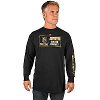 Men's Majestic Vegas Golden Knights Quick Whistle Tee