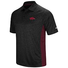 Men's Colosseum Arkansas Razorbacks  Wedge Polo