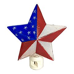 Celebrate Americana Together Patriotic Star Night Light