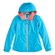 Girls 7-16 ZeroXposur Lightweight Kelly Rain Jacket