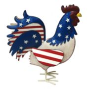 Celebrate Americana Together Patriotic Rooster Table Decor