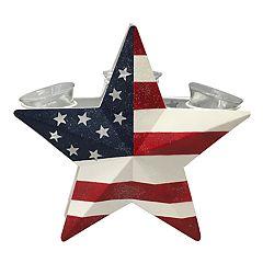 Celebrate Americana Together 3-Light Patriotic Votive Candle Holder