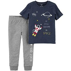 Baby Boy Carter's 2-pc. Space Graphic Tee & Jogger Pants Set