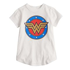 Girls 4-10 Jumping Beans® DC Comics Wonder Woman Logo Tee