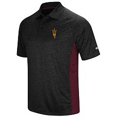 Men's Colosseum Arizona State Sun Devils  Wedge Polo