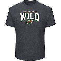 Men's Majestic Minnesota Wild Penalty Tee