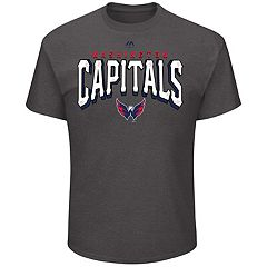 Men's Majestic Washington Capitals Penalty Tee