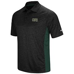 Men's Colosseum Colorado State Rams  Wedge Polo