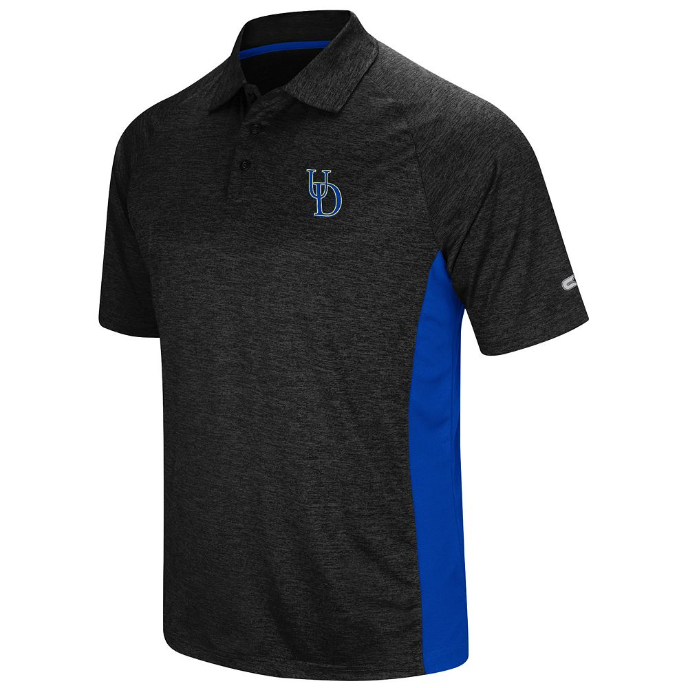 Men's Colosseum Delaware Blue Hens  Wedge Polo