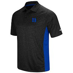 Men's Colosseum Duke Blue Devils  Wedge Polo