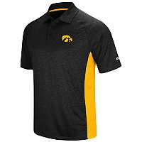 Men's Colosseum Iowa Hawkeyes Wedge Polo