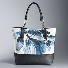 Simply Vera Vera Wang Catherine Floral Tote