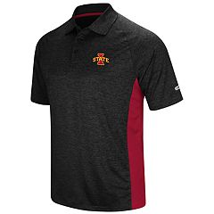 Men's Colosseum Iowa State Cyclones  Wedge Polo