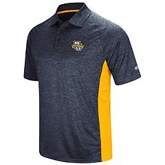 Men's Colosseum Marquette Golden Eagles  Wedge Polo