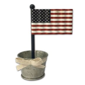 Celebrate Americana Together American Flag Photo Clip