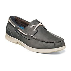Nunn Bush Bayside Men's Boat Shoes. Charcoal Tan Brown Dark Brown Navy. sale