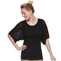Women's Apt. 9® Kimono Sleeve Crewneck Sweater
