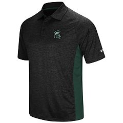Men's Colosseum Michigan State Spartans  Wedge Polo